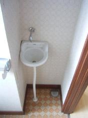 手洗い場フォーム-施工前-